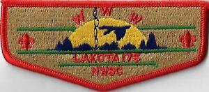 OA Lakota Lodge 175  Flap ORG Bdr. NWSC [MX-13794]