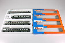 Roco H0 (AC) 44609 44611 45100 (4x) Schnellzugwagen der SNCF, OVP+TOP (T832)