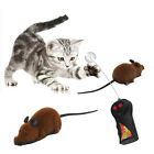 Remote Control Simulation Plush Mouse Mice Kids Toys Gift for Cat Dog Brown