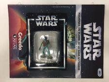 star wars figurine en plomb greedo n29/60 neuve blister fascicule atlas