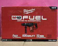 Milwaukee 2717 20 M18 Fuel 18v 1 916 Inch Sds Max Rotary Hammer 6768
