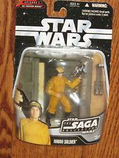Star Wars Episode I Saga Collection 050 Naboo Soldier With Blaster NOSC
