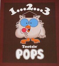 New Tootsie Pop Owl Plush Fleece Throw Gift Blanket Lollipop Candy Sucker Roll