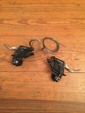 Shimano Deore XT ST-M737 Cantilever Brake Lever Shifters Set 3x8 Speed