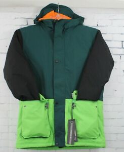 O'Neill Boys Youth Hawking Snowboard Jacket, Size 14 / 170, Botanical Green New
