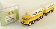 Fiat 690 Millepiedi Treno di bagagli GONDRAND - Brekina 58436