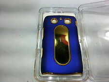 GO BC136 Luxurious Classic Chrome Hard Case for Blackberry 9700/9780 Blue