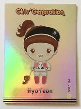 Girls' Generation SNSD Star Card Collection Season 2.5 Cartoon GG2.5-104 Hyoyeon