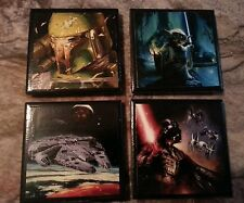 Star Wars ceramic coasters (set of 4)