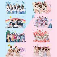 8PCS Kpop IZONE Collective PVC Cards Transparent Photocards Mini Cards bar Top