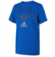 Adidas Youth Short Sleeves Climalite TShirt Red, Blue, Black Gray Color Deal {&}