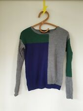 Country Road long sleeve top - Size S 8 10 - extra fine merino wool - so cute!