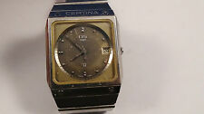 CERTINA DS N2 vintage watch uhr quartz