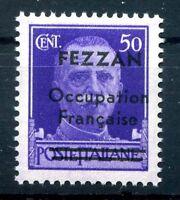FEZZAN  1943 -  OCCUPAZIONE FRANCESE N° 1   nuovo  ** VARIETA'