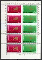 Romania 1972 MNH Mi 3020-3021 KLB Sc 2327-2328 Inter-European Collaboration **