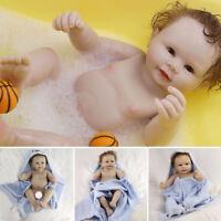 "50cm Full Body Silicone Vinyl Reborn Baby Boy Doll 20"" Newborn Infant Waterproof"