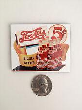 "NEW ""Pepsi Cola Bigger Better"" Porcelain Steel MAGNET Ande Rooney Discontinued!"