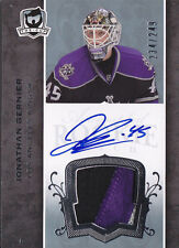 07-08 The Cup Jonathan Bernier Auto Jersey Patch Rookie Card RC #128 234/249