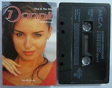 DANNII THIS IS THE WAY UK RELEASE CASSINGLE TAPE
