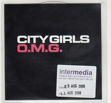 (EC770) City Girls, O.M.G. - 2008 DJ CD