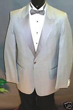 Pearl Grey Peak Lapel - Bill Blass - 1 button Tuxedo  10300