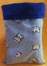 "Guinea Pig Hamster Gerbil Hedgehog Ferret  snuggle sack/sleep bag kitty 9x13"" 82"