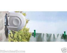 Le lavage Extérieur Rectractable Ligne * 15m mural séchoir à linge séchoir * moulinet