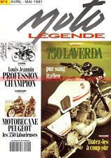MOTO LEGENDE   4 LAVERDA 750 SF 650 BSA B31 MOTOBECANE 350 PEUGEOT P107 GUILLER