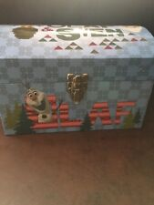 New Frozen Olaf & Sven Trunk With Rope Handles New