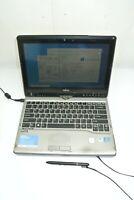 """Fujitsu Lifebook T732 12.5"""" Core i5-3340M 8GB DDR3 320GB HDD W10Pro -Case damage"""