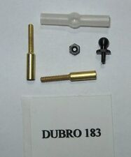 Du-Bro 183 Aileron Connector & Dual Take Off Ball Link