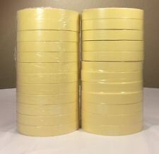 "1/2"" MASKING TAPE 12MM x 110 FT (72 ROLLS) NATURAL COLOR"