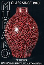 Murano, Glass Since 1940, An Important Private Collection, Auktion 1998