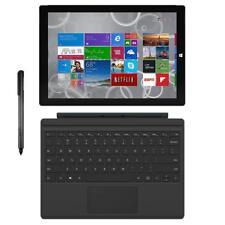 "Microsoft Surface Pro 3 12"" i7-4650U 1.7GHz 8GB 256GB SSD Windows 10 Pro"