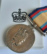 More details for full size genuine gulf war medal awarded to able seaman sonar royal navy in box