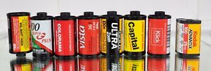 35mm Rolls 7x Exposed Undeveloped Film Canisters X 7  1 X APS . Mystery Film