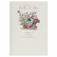 Hallmark To Both Of You Cute Country Companions Glitter Christmas Card, of you,