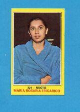 CAMPIONI dello SPORT 1970-71-Figurina n.221- TRICARICO - NUOTO -NEW