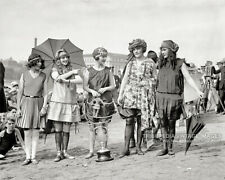 Vintage 1922 Photo - BATHING BEAUTY CONTEST WINNERS - Swimsuits Bathing Costumes