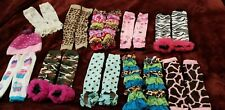 Bundle Of 10 pairs Toddler Girl Leg Warmers and 1 beanie
