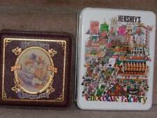 Hershey Collector Tins ~ The Great American Chocolate Factory & Hershey Bars