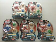 Lot of 5 Bakugan Battle Planet Starter Packs Aquos Pegatrix & Dragonoid & Pyrus