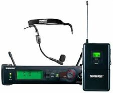 Shure SLX4 Top Gesang Gitarre Wireless Funk Anlage + WH20 Headset Mikro NP 850 €
