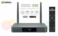 ZIDOO X9s UltraHD 4k HDR Android TV Media Streamer