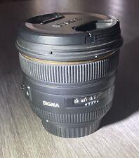 Sigma DG 50mm f/1.4 HSM DG EX ASP Lens For Canon