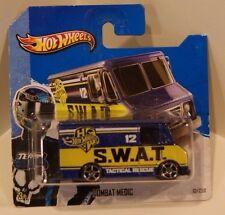 2013 Hot Wheels HW City SWAT Combat Medic ERROR Missing Interior/Doors/Window
