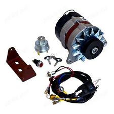 DYNAMO TO ALTERNATOR CONVERSION KIT FITS MASSEY FERGUSON 35 (3 cyl) TRACTORS