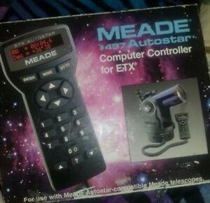 Meade #497 Autostar Computer Controller for ETX w/ Manual