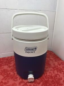 Coleman Thermos 2 Gal W/Water Tap Blue