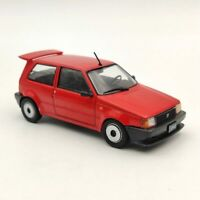 1:43 IXO Fiat Uno EF 1990 Red Diecast Models Limited Collection